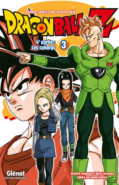 Couverture Dragon Ball Z (anime) : Les cyborgs, tome 3