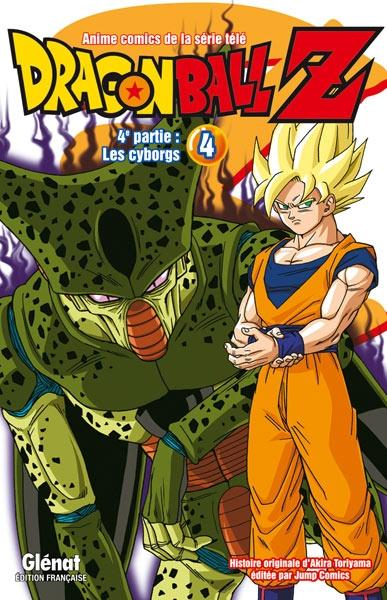 Couverture Dragon Ball Z (anime) : Les cyborgs, tome 4