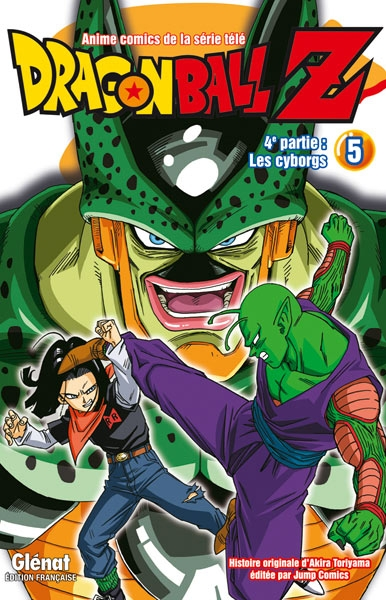 Couverture Dragon Ball Z (anime) : Les cyborgs, tome 5