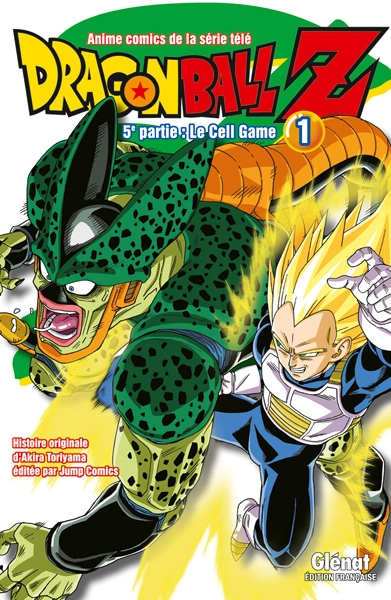 Couverture Dragon Ball Z (anime) : Le Cell Game, tome 1