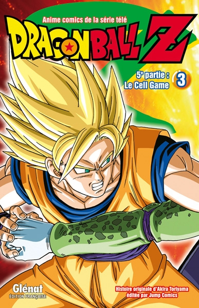Couverture Dragon Ball Z (anime) : Le Cell Game, tome 3