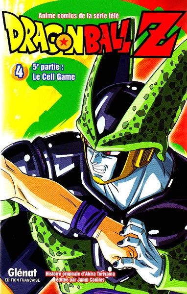 Couverture Dragon Ball Z (anime) : Le Cell Game, tome 4