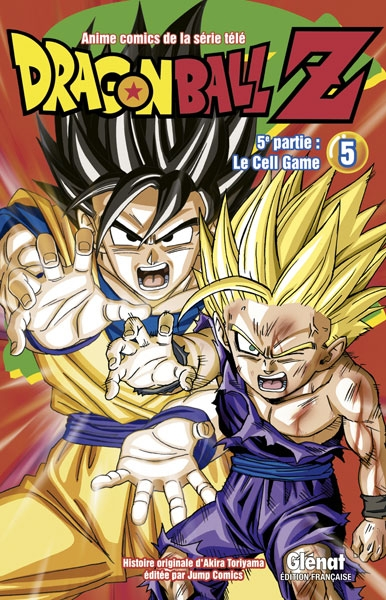 Couverture Dragon Ball Z (anime) : Le Cell Game, tome 5