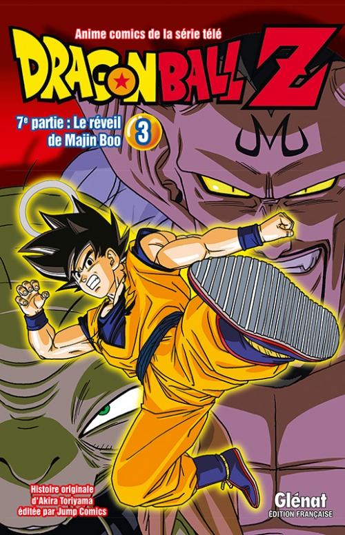 Couverture Dragon Ball Z (anime) : Le réveil de Majin Boo, tome 3