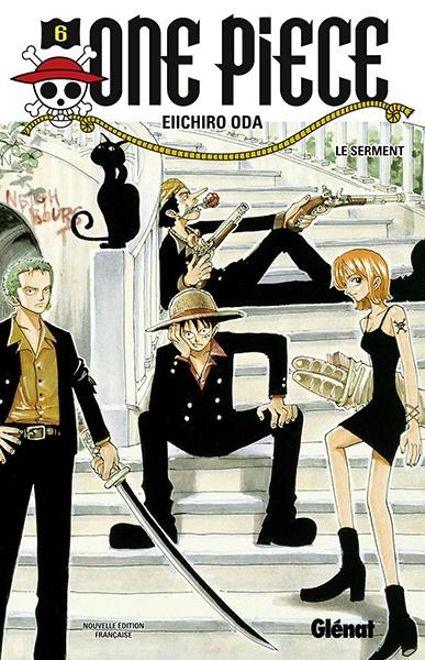 Couverture One Piece, tome 06 : La grande promesse