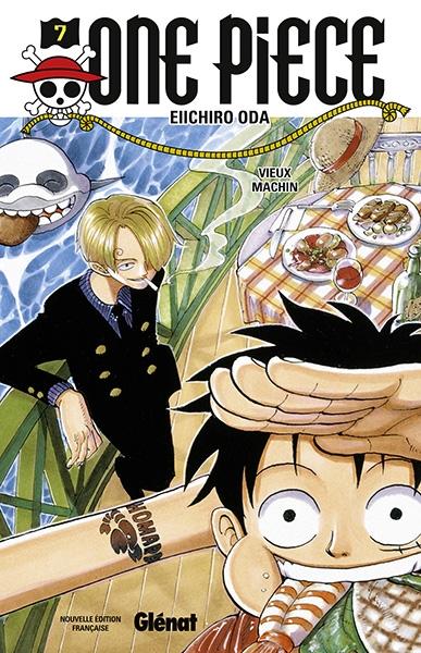 Couverture One Piece, tome 07 : Le vieux schnock