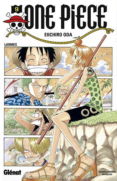 Couverture One Piece, tome 09 : Une jeune fille en pleurs
