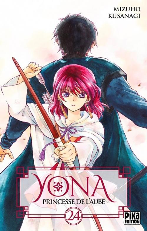 Couverture Yona, princesse de l'aube, tome 24