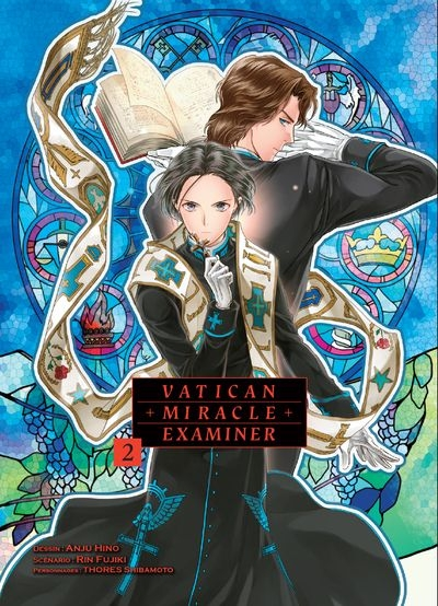 Couverture Vatican miracle examiner, tome 2