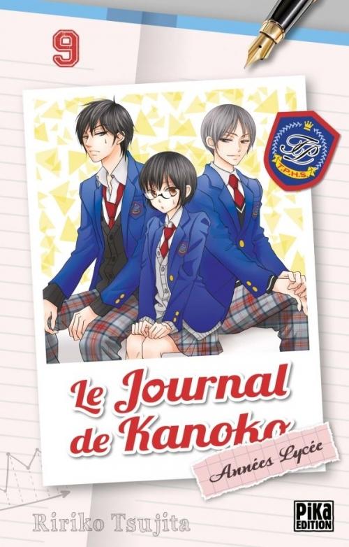 Couverture Le journal de Kanoko : Années lycées, tome 09