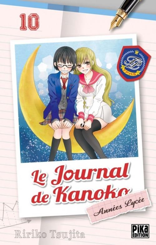 Couverture Le journal de Kanoko : Années lycées, tome, tome 10