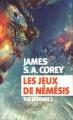 Couverture The expanse, tome 5 : Les jeux de Némésis Editions Actes Sud (Exofictions) 2018