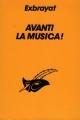 Couverture Avanti la mùsica ! Editions Librairie des  Champs-Elysées  (Le masque) 1992