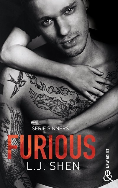 Couverture Sinners, tome 4 : Furious