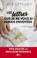 Couverture Les lettres que je ne vous ai jamais envoyées Editions Diva (Romance) 2018