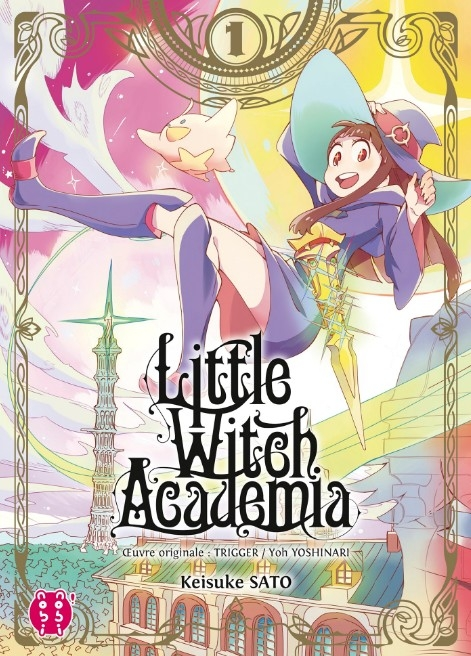 Couverture Little Witch Academia, tome 1