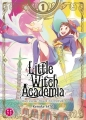 Couverture Little Witch Academia, tome 1 Editions Nobi nobi ! (Shônen kids) 2018