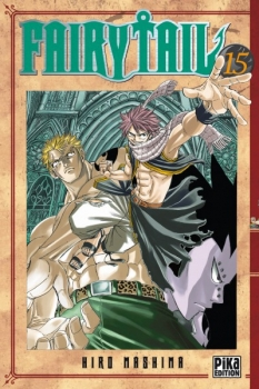 Couverture Fairy Tail, tome 15