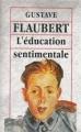 Couverture L'Éducation sentimentale Editions Mangavelle 1994