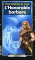 Couverture Xylar, tome 4 : L'honorable barbare Editions Denoël (Présence du futur) 1999