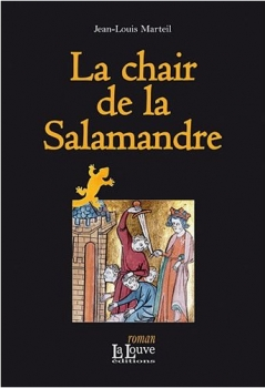 Couverture La chair de la salamandre