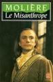 Couverture Le misanthrope / Le misanthrope ou l'atrabilaire amoureux Editions Le Livre de Poche 1986