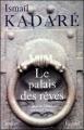 Couverture Le palais des rêves Editions Fayard 1990