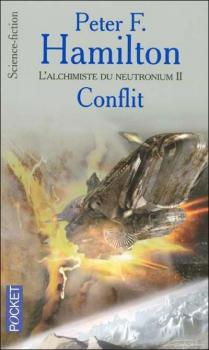 Couverture L'Aube de la Nuit, tome 2 : L'Alchimiste du neutronium, partie 2 : Conflit