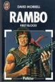 Couverture Rambo First Blood / Premier sang Editions J'ai Lu 1986
