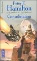 Couverture L'Aube de la Nuit, tome 2 : L'Alchimiste du neutronium, partie 1 : Consolidation Editions Pocket (Science-fiction) 2005