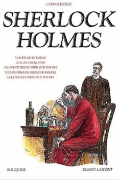 Couverture Sherlock Holmes, intégrale, tome 1