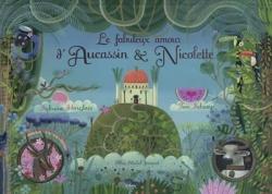 Couverture Le fabuleux amour d'Aucassin et Nicolette