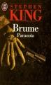 Couverture Brume, tome 1 : Paranoïa Editions J'ai Lu 1994
