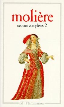 Couverture Oeuvres complètes (Molière GF-Flammarion), tome 2