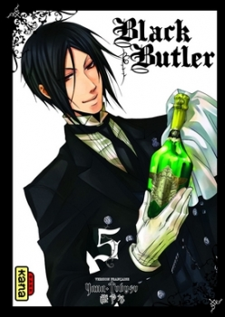 Couverture Black Butler, tome 05