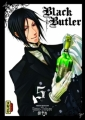 Couverture Black Butler, tome 05 Editions Kana (Dark) 2010