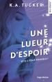 Couverture Une lueur d'espoir Editions Hugo & cie 2018
