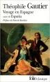 Couverture Voyage en Espagne Editions Folio  1981