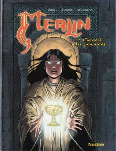 Couverture Merlin, tome 02 : L'éveil du pouvoir