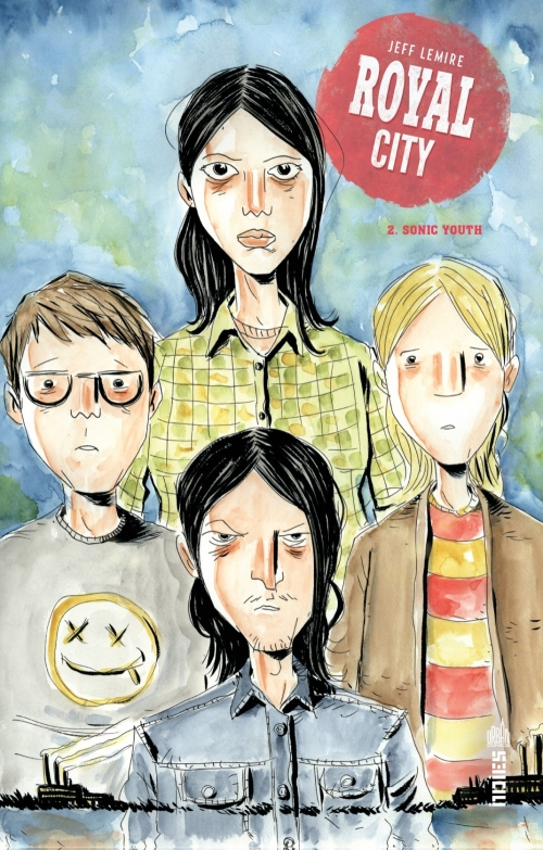 Couverture Royal City, tome 2 : Sonic Youth