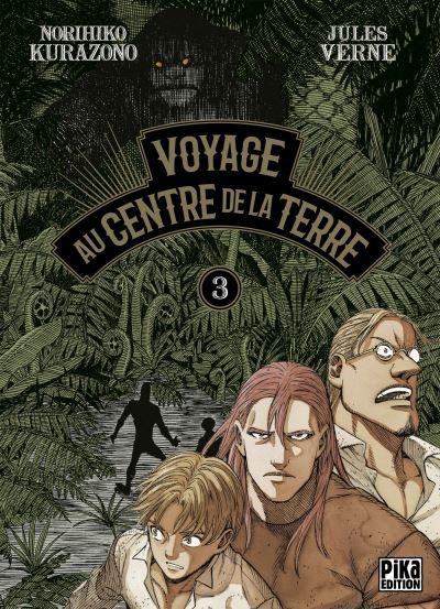 Couverture Voyage au centre de la terre (manga), tome 3