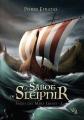 Couverture Sagas des Mers Grises, tome 1 : Le Sabot de Sleipnir Editions Noir d'absinthe 2018