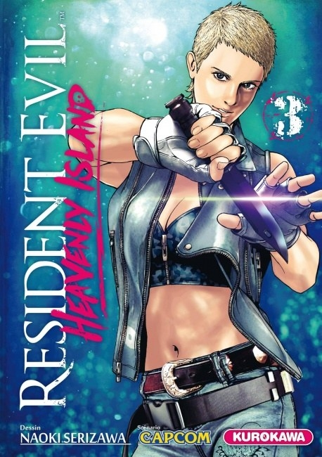 Couverture Resident Evil : Heavenly Island, tome 3