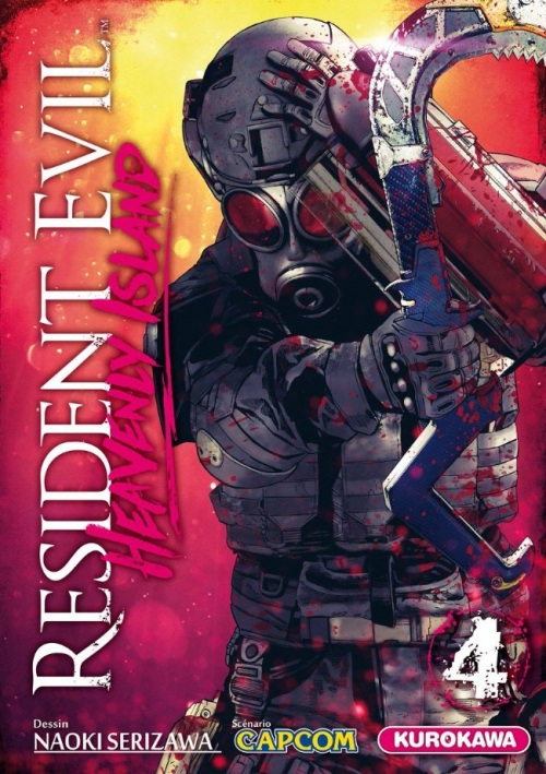 Couverture Resident Evil : Heavenly Island, tome 4