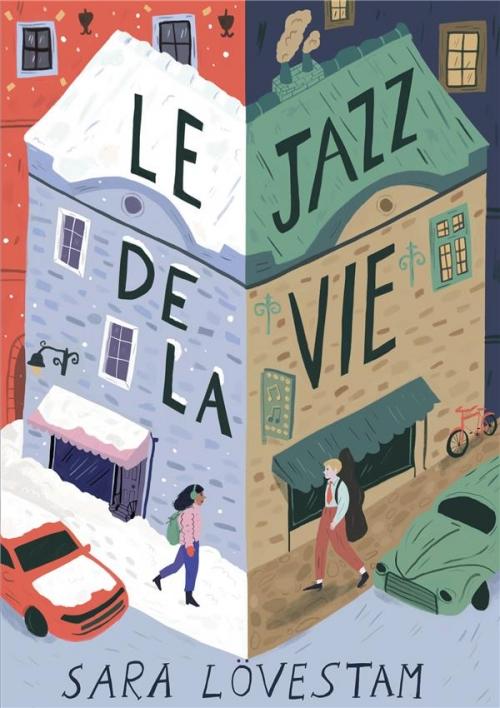 Couverture Le jazz de la vie