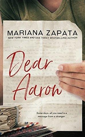 Couverture Dear Aaron