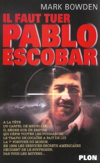 Couverture Killing Pablo