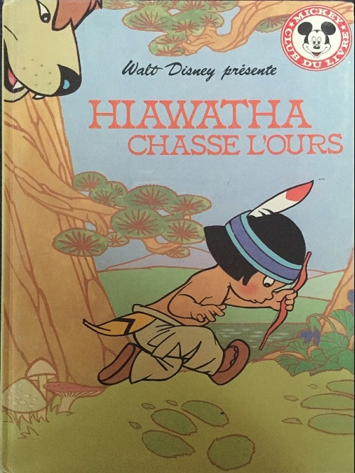 Couverture Hiawatha chasse l'ours