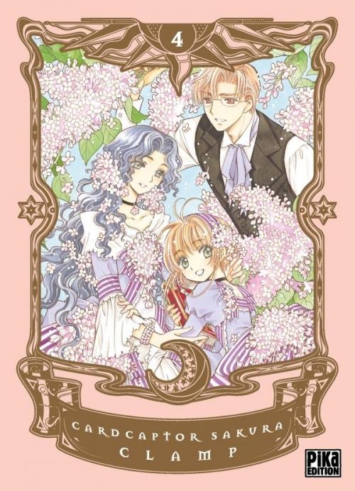 Couverture Card Captor Sakura, deluxe, tome 4