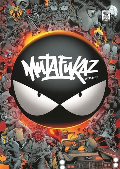 Couverture Mutafukaz, intégrale